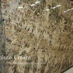 Absolute Cream Granite Slab
